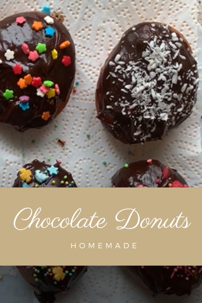 Homemade Chocolate Donuts