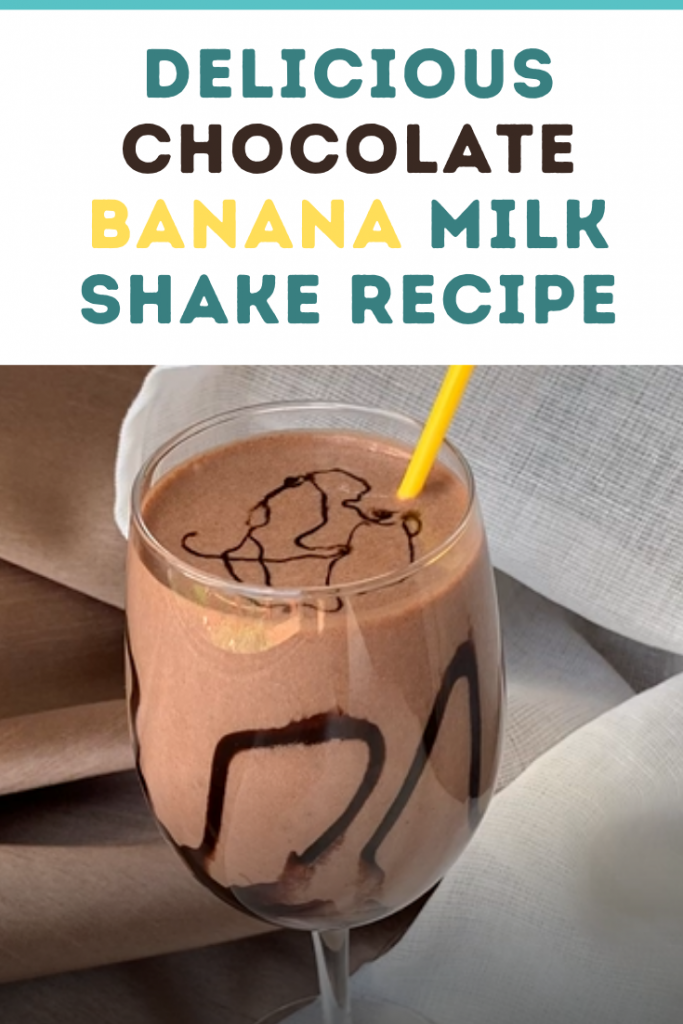 Chocolate Banana Milkshake Video Recipe