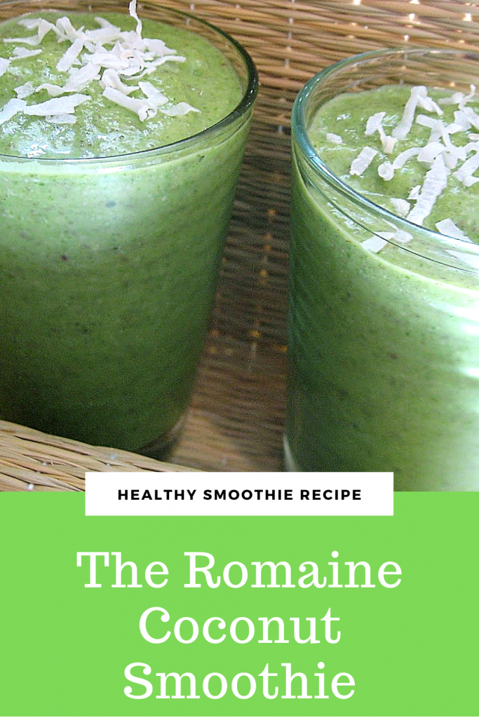 The Romaine Coconut Smoothie